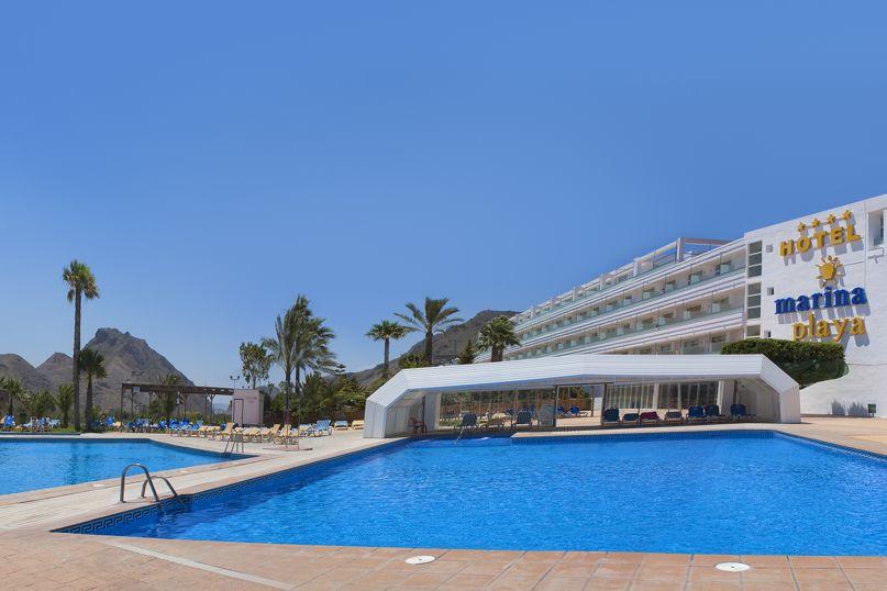 Swimming pool Hotel Servigroup Marina Playa Mojacar