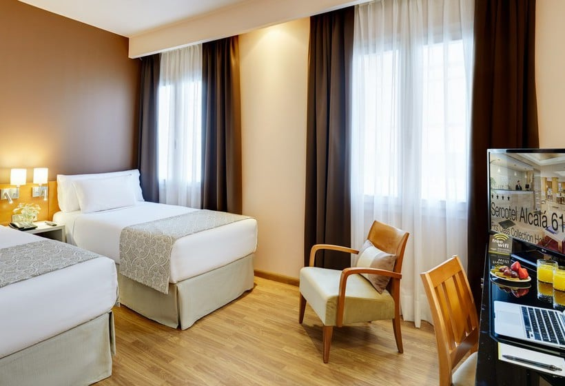 Sercotel alcal 611 in madrid starting at 19 destinia for Hotel regina alcala 19 madrid