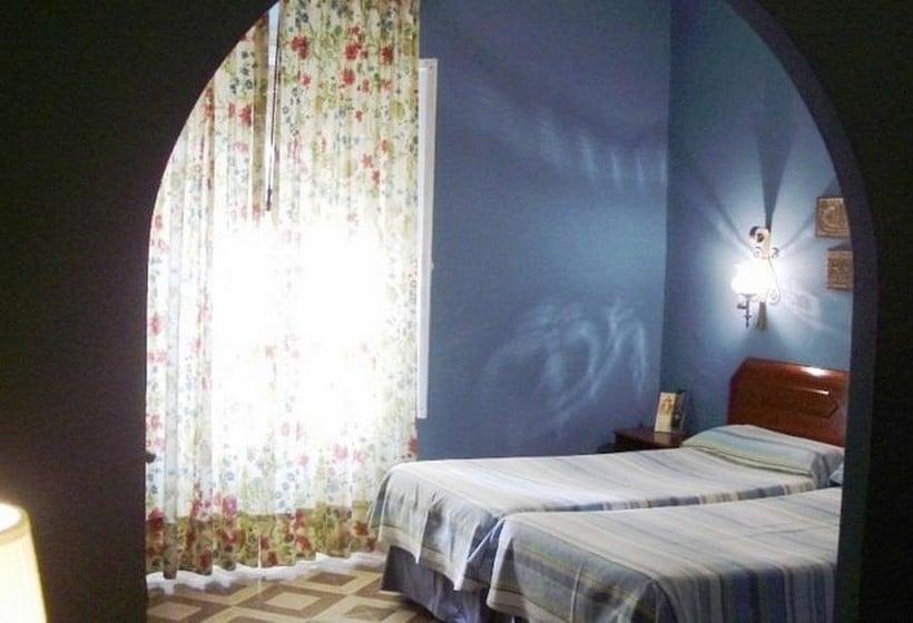 Quarto Hotel Abanico Sevilha