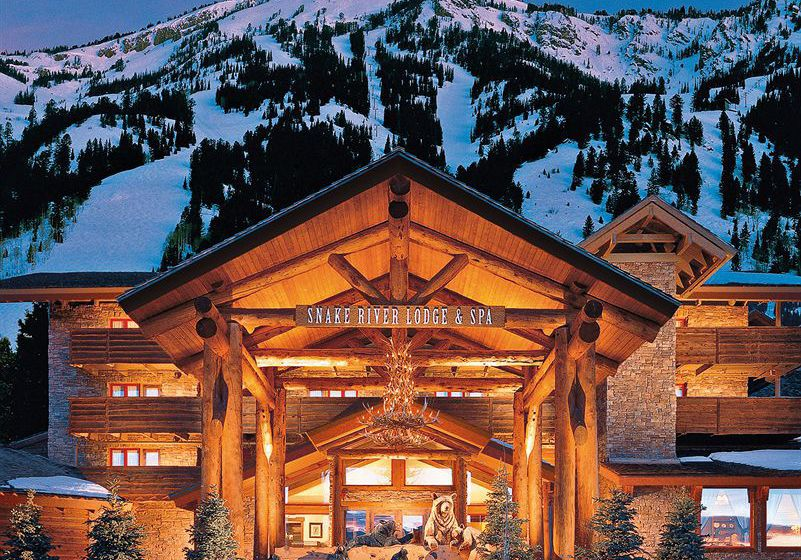 منتجع Snake River Lodge & Spa Teton Village
