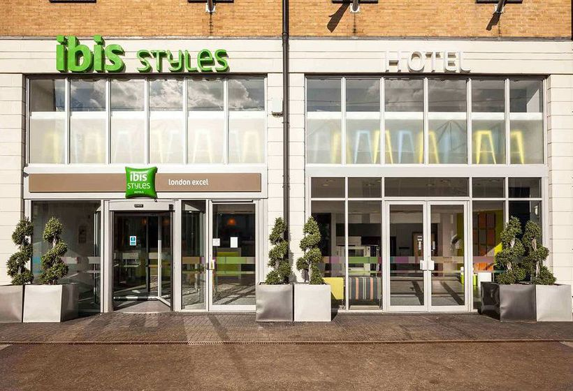 ホテル ibis Styles London Excel ロンドン