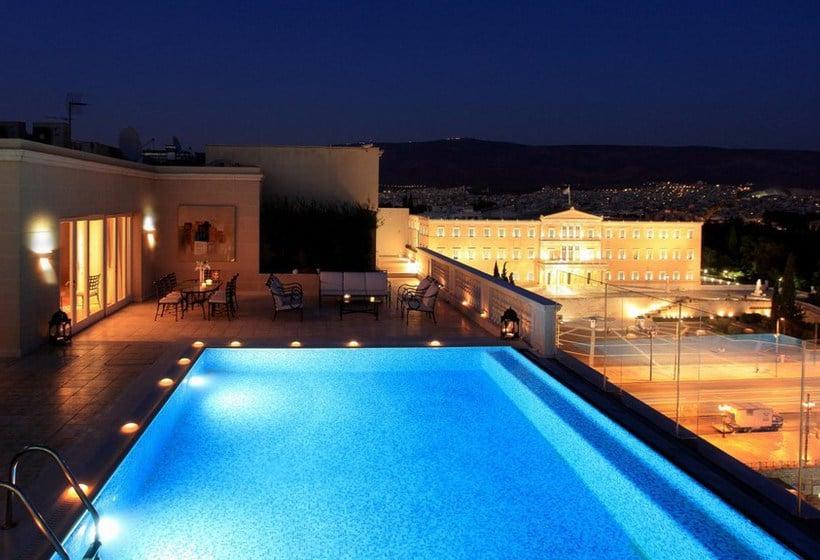 Piscine Hôtel King George Palace Athènes