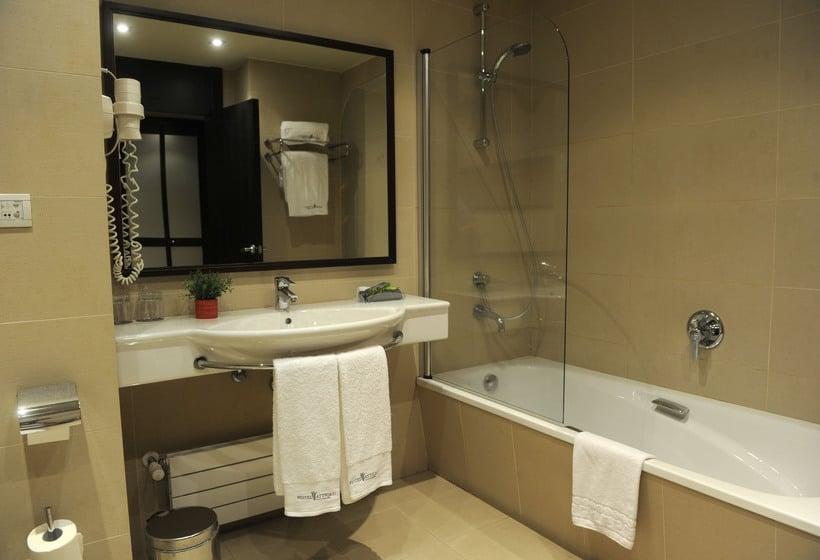 욕실 호텔 Attica21 Coruña 라코루냐