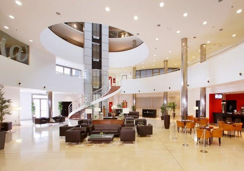 리셉션 호텔 Attica21 Coruña 라코루냐