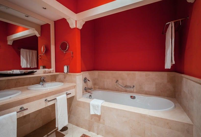 욕실 Lopesan Villa del Conde Resort & Thalasso Meloneras