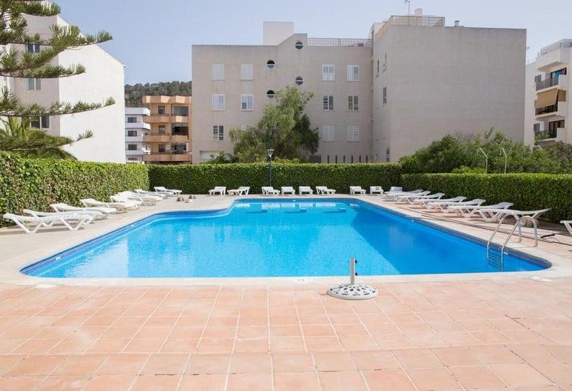 Swimming pool NWT Hostal Sunset Ibiza Sant Antoni de Portmany