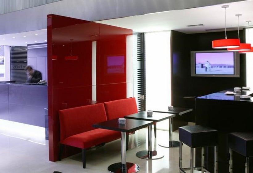 أماكن عامة فندق Zenit Bilbao بلباو