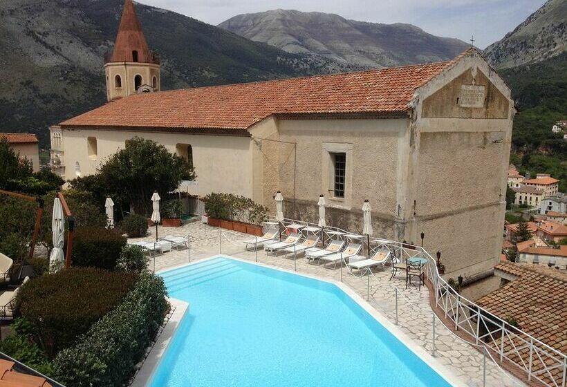 Schwimmbad Hotel La Locanda Delle Donne Monache Maratea