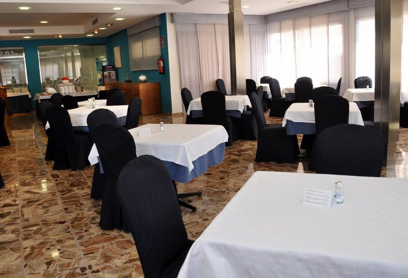 레스토랑 호텔 Castilla Alicante Playa de San Juan
