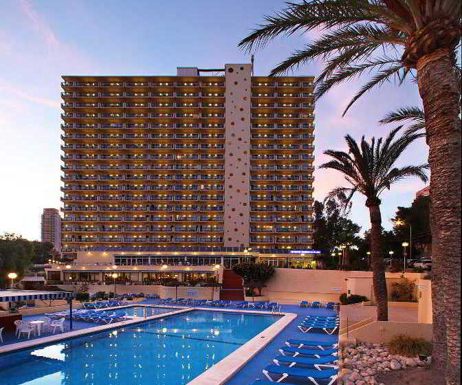 Hotel poseidon playa em benidorm desde 23 destinia for Hotel poseidon benidorm