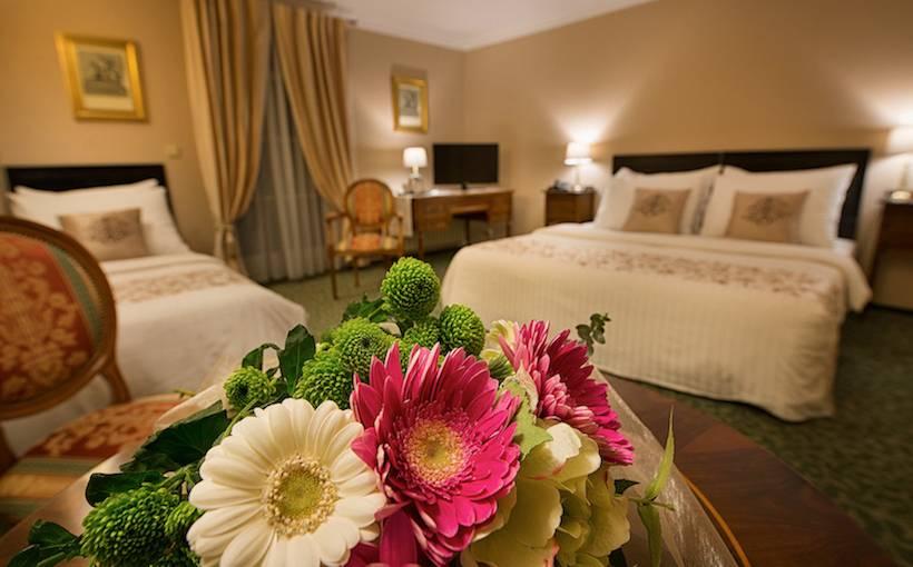 部屋 ホテル Angelis プラハ