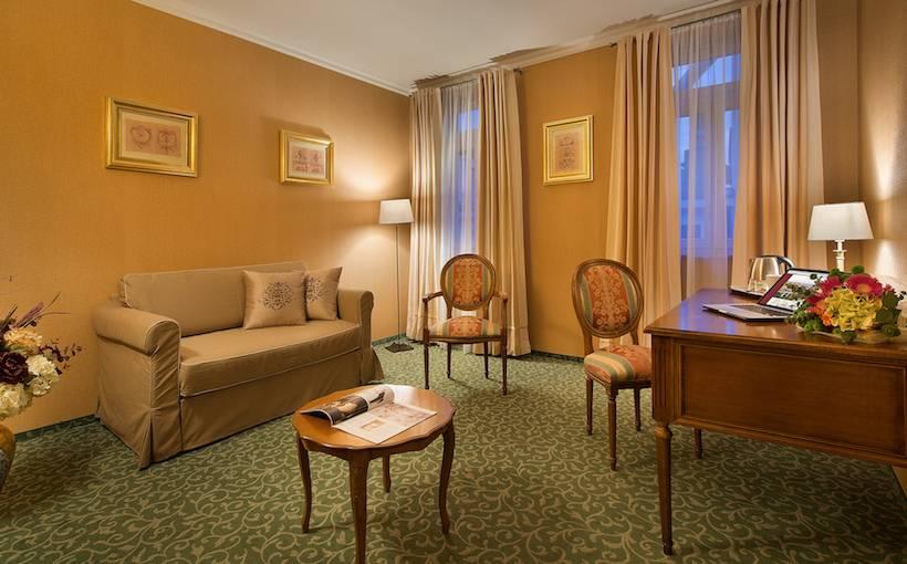 共同スペース ホテル Angelis プラハ