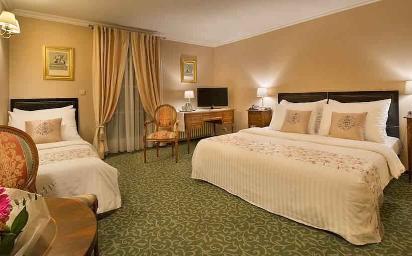 Quarto Hotel Angelis Praga
