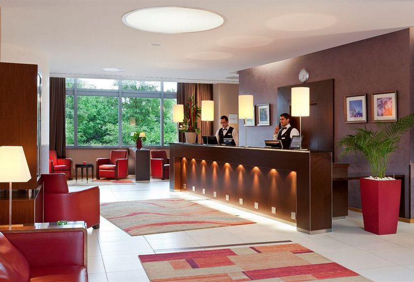 호텔 Crowne Plaza Lyon Cité Internationale 리옹