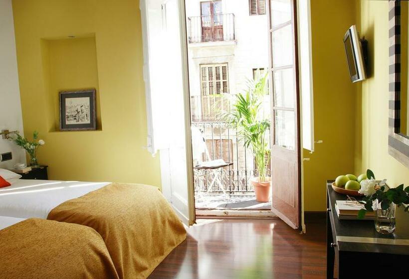 Habitación Apartamentos AinB Gothic Jaume I Barcelona