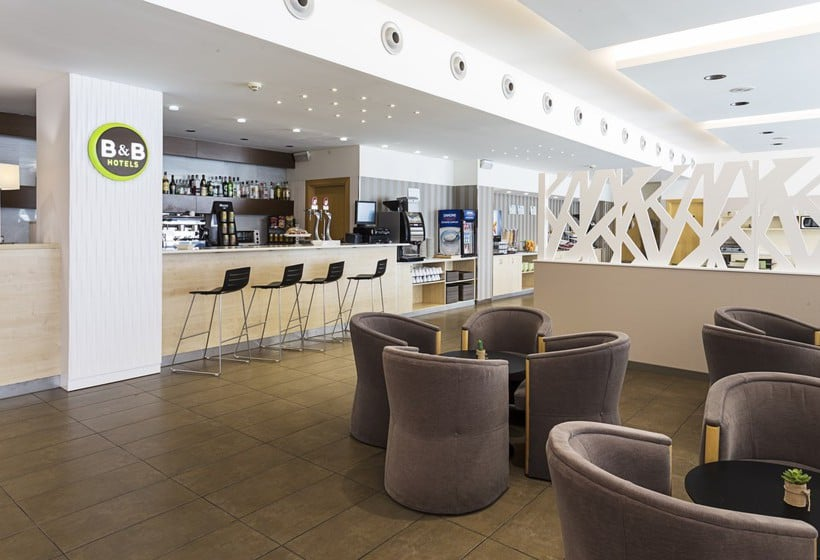 Cafeteria B&B Hotel Madrid Airport T1 T2 T3