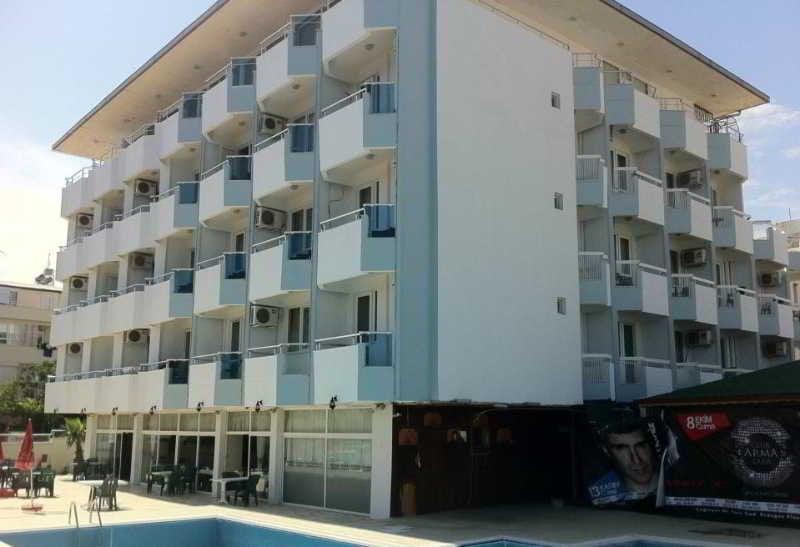 Aussenbereich Antalya Palace Airport Hotel
