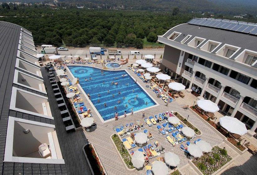 Aussenbereich Hotel Viking Star Kemer