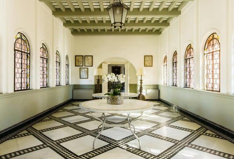Zonas comunes Hotel Castillo de Santa Catalina Málaga