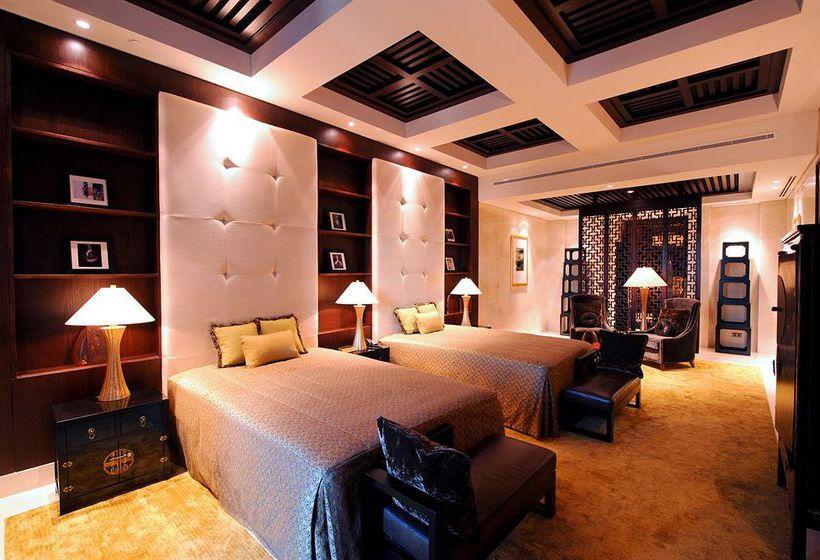Chambre Hôtel Raffles Dubai Dubaï