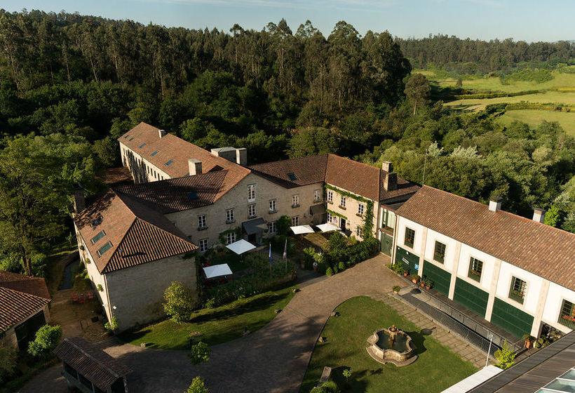 Outside A Quinta da Auga Hotel Spa Relais & Châteaux Santiago de Compostela
