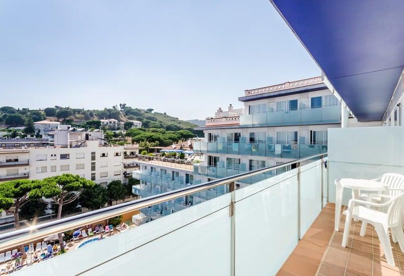 Terrasse Hotel Mar Blau  Calella