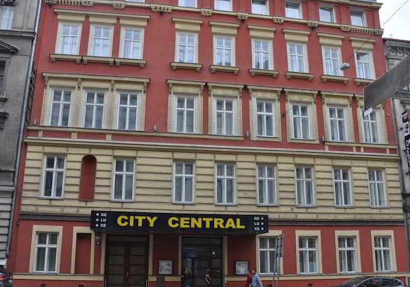 H tel city central de luxe prague partir de 18 for Hotel city central prague