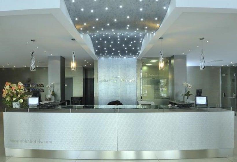 Recepción Hotel Abba Granada
