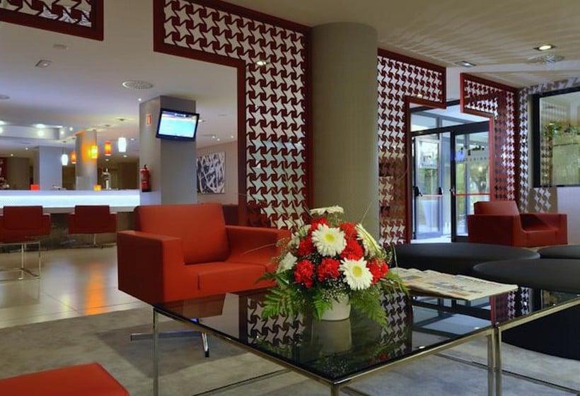 Zonas comunes Hotel Abba Granada