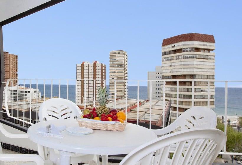 Terrace Apartamentos Torre Belroy Benidorm