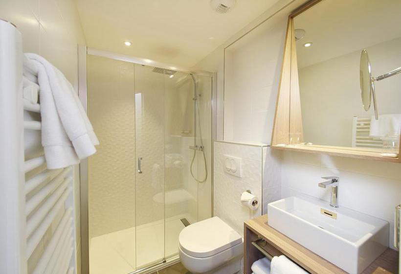 Salle de bain Hôtel Mercure Brest Centre Les Voyageurs