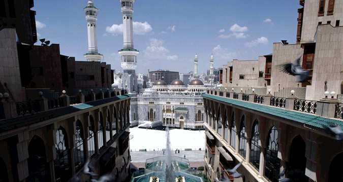 بیرونی هتل Makkah Hilton مکه