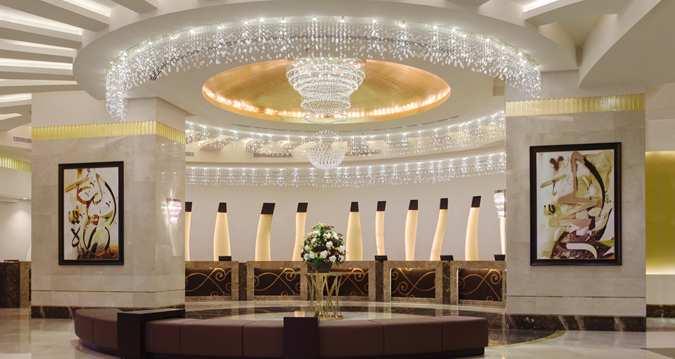 پذیرش هتل Makkah Hilton مکه