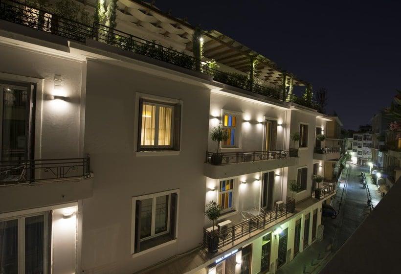 Aussenbereich Hotel Kimon  Athen