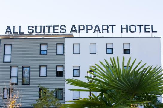 All suites appart 39 h tel pau for Appart hotel 37