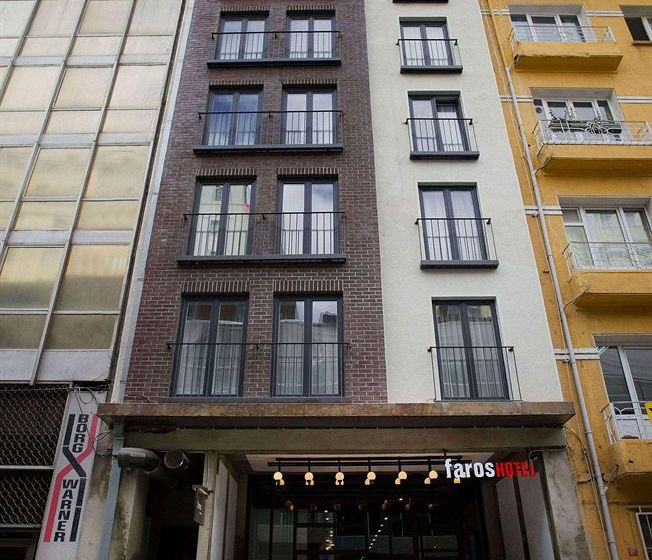 خارجي فندق Faros Taksim إسطنبول