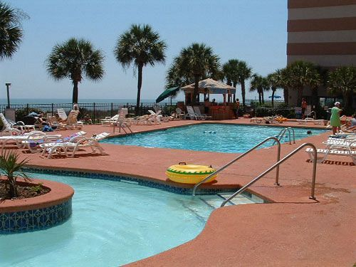 Sandcastle Oceanfront Resort At The Pavilion Myrtle Beach