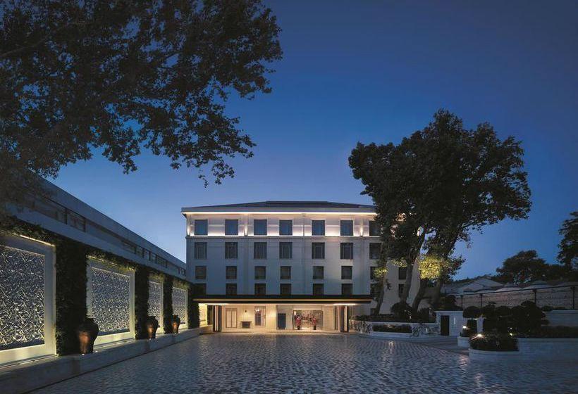 Réception Hôtel Shangri-la Bosphorus Istanbul