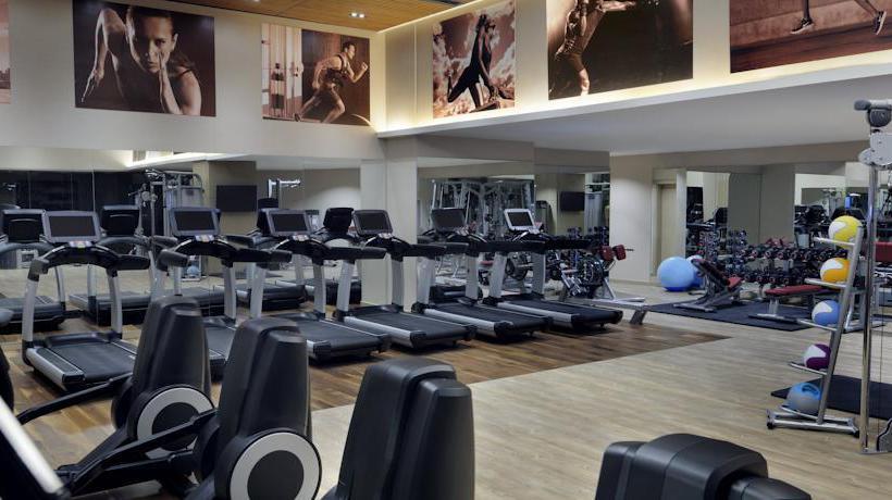 Instalaciones deportivas Istanbul Marriott Hotel Sisli  Estambul