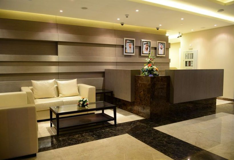 Ресепшен Welcome Hotel Apartments Дубай