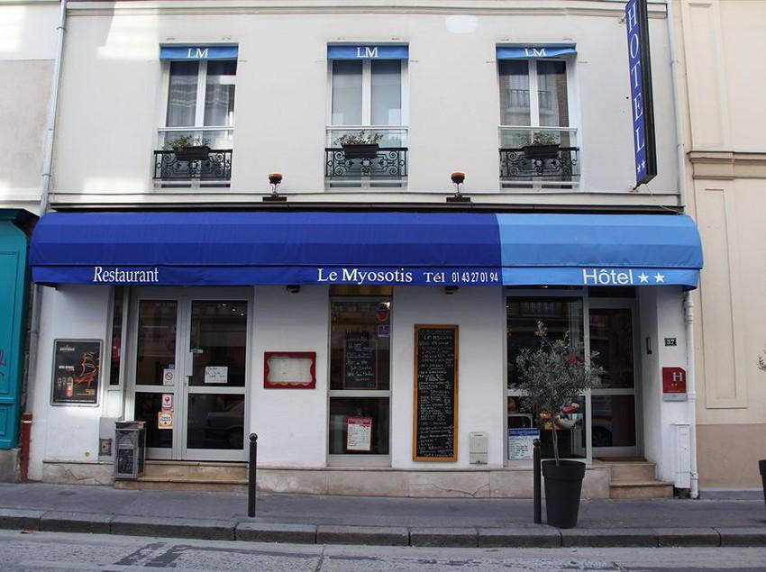 H tel le myosotis paris les meilleures offres avec destinia for Hotel france numero