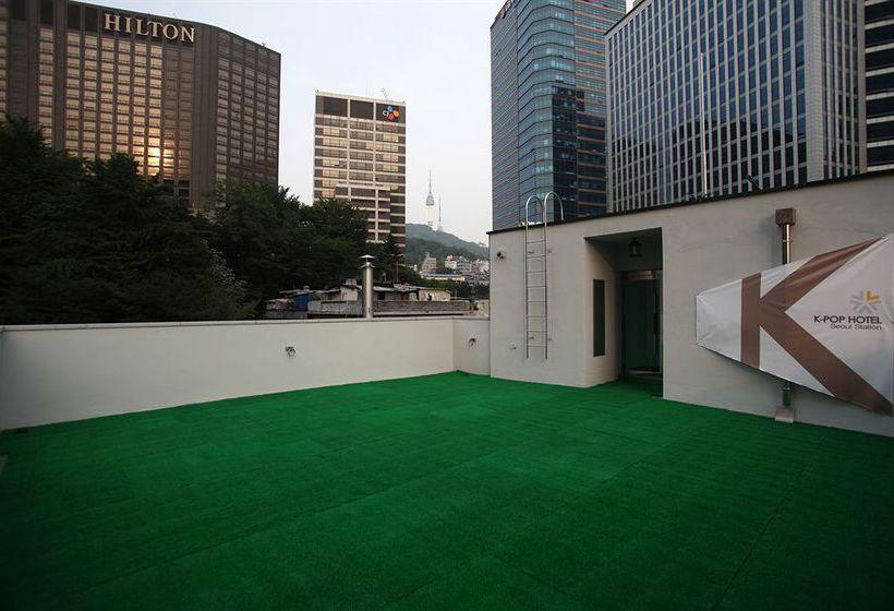 pension h tel basse cat gorie k pop hotel seoul station s oul partir de 25 destinia. Black Bedroom Furniture Sets. Home Design Ideas